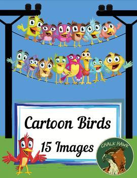 Cartoon Birds Clip Art