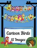 Cartoon Birds Clip Art