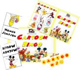 Cartoon Character Bingo   Fun Classroom Game