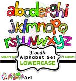 Cartoon Clipart Font Alphabet
