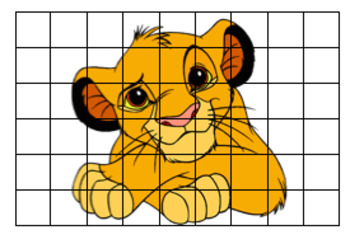 Cartoon Collage Grid Printing Instructions