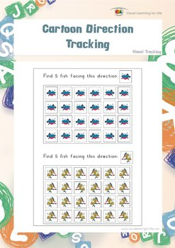 Cartoon Direction Tracking