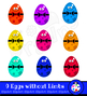 Cartoon Easter Egg Clip Art Holiday Set