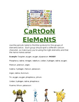 Cartoon Elements