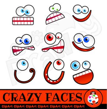 Cartoon Face Clip Art