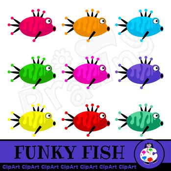 Cartoon Fish Clip Art