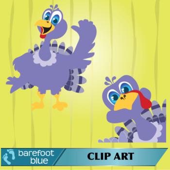 Cartoon Funny Thanksgiving Turkey Clip Art