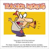 Cartoon Memos for Teachers