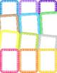 Cartoon Pop Art Page Borders {Clip Art for CU}