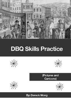 Historical Cartoon Sources Skills (for Data-Based Questions)