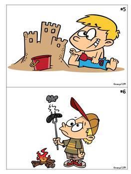 Cartoon Writing Prompts Bundle