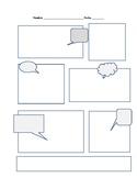 Cartoon dialogue template