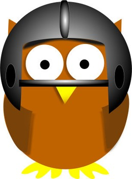 Cartoon owl mascot jpgs