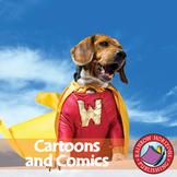 Cartoons And Comics Gr. 6-8