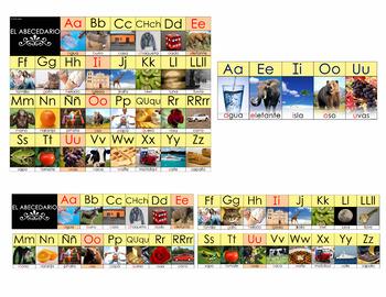 Cartulinas del Abecedario en Español (Spanish Alphabet Posters) – Set of 9