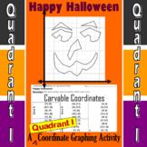 Carvable Coordinates - A Quadrant I Coordinate Graphing Activity
