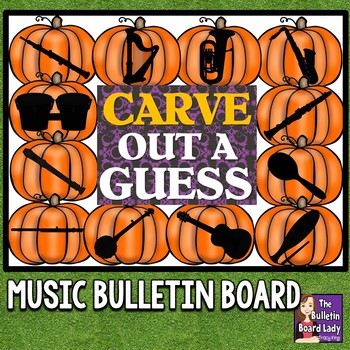 Carve Out a Guess Music Bulletin Board