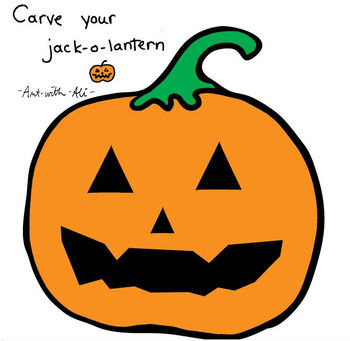 Carve your own jack-o-lantern pumpkin printable
