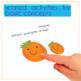 Fall or Halloween Pumpkin Interactive Vocabulary Book
