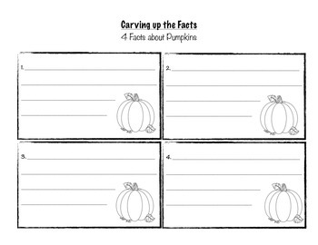 Carving up the facts about pumpkins