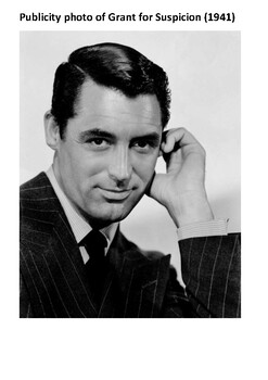 Cary Grant Handout