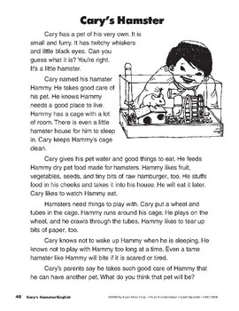 Cary's Hamster