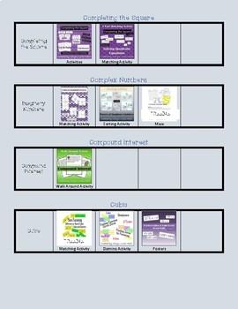 Caryn Loves Math Store Catalog - Algebra Edition