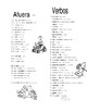 Casa, Cocina, Baño - House, Kitchen, Bathroom - Spanish Vocabulary Pages