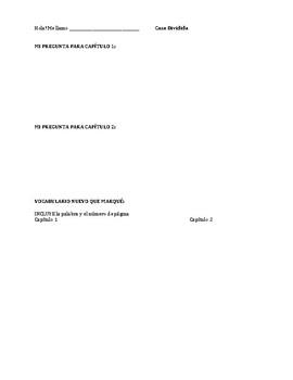 Casa Dividida - Chapter Comprehension Questions
