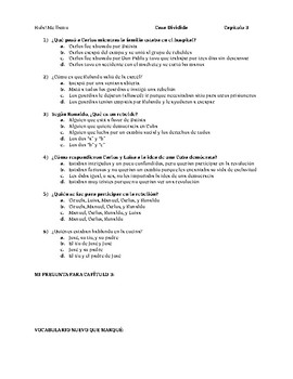 Casa Dividida - Multiple Choice Chapter Comprehension Quizzes