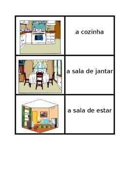 Casa (Full House in Portuguese) Concentration games