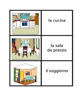 Casa (House in Italian) Concentration games