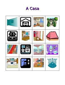 Casa (House in Portuguese) Bingo