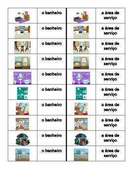 Casa (House in Portuguese) Dominoes