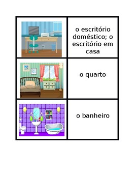Casa (House in Portuguese) Concentration games