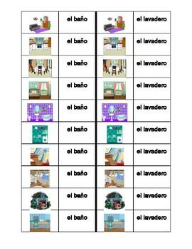 Casa (House in Spanish) Dominoes