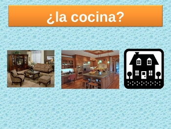 Casa (House in Spanish) power point