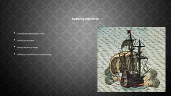 Casabianca by Felicia Hemans PowerPoint lesson