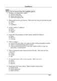 Casablanca - 50 Question Multiple Choice Quiz / Final Assessment