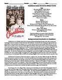 Casablanca Film (1942) Study Guide Movie Packet
