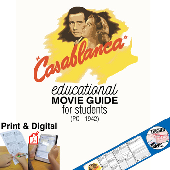 Casablanca (PG - 1942) Movie Viewing Guide