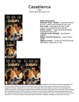 Casablanca Video Guide with KEY