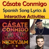 Casate Conmigo - Spanish Song Lyrics & Activities - Nicky Jam