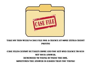 Case Files - Weekly - Year Bundle