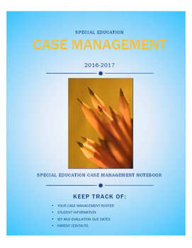Case Management Notebook