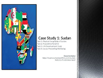 Case Study of Sudan Powerpoint