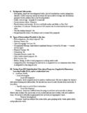 Case Study of a 1st Grader