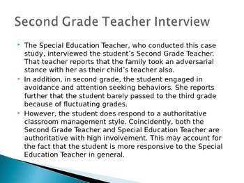 RTI: Case Study of an Amotivated 3rd Grader