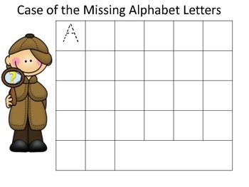 Case of the Missing Alphabet Letter