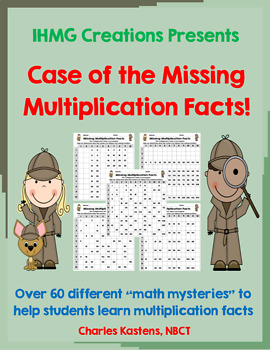 Case of the Missing Multiplication Facts--No Prep!